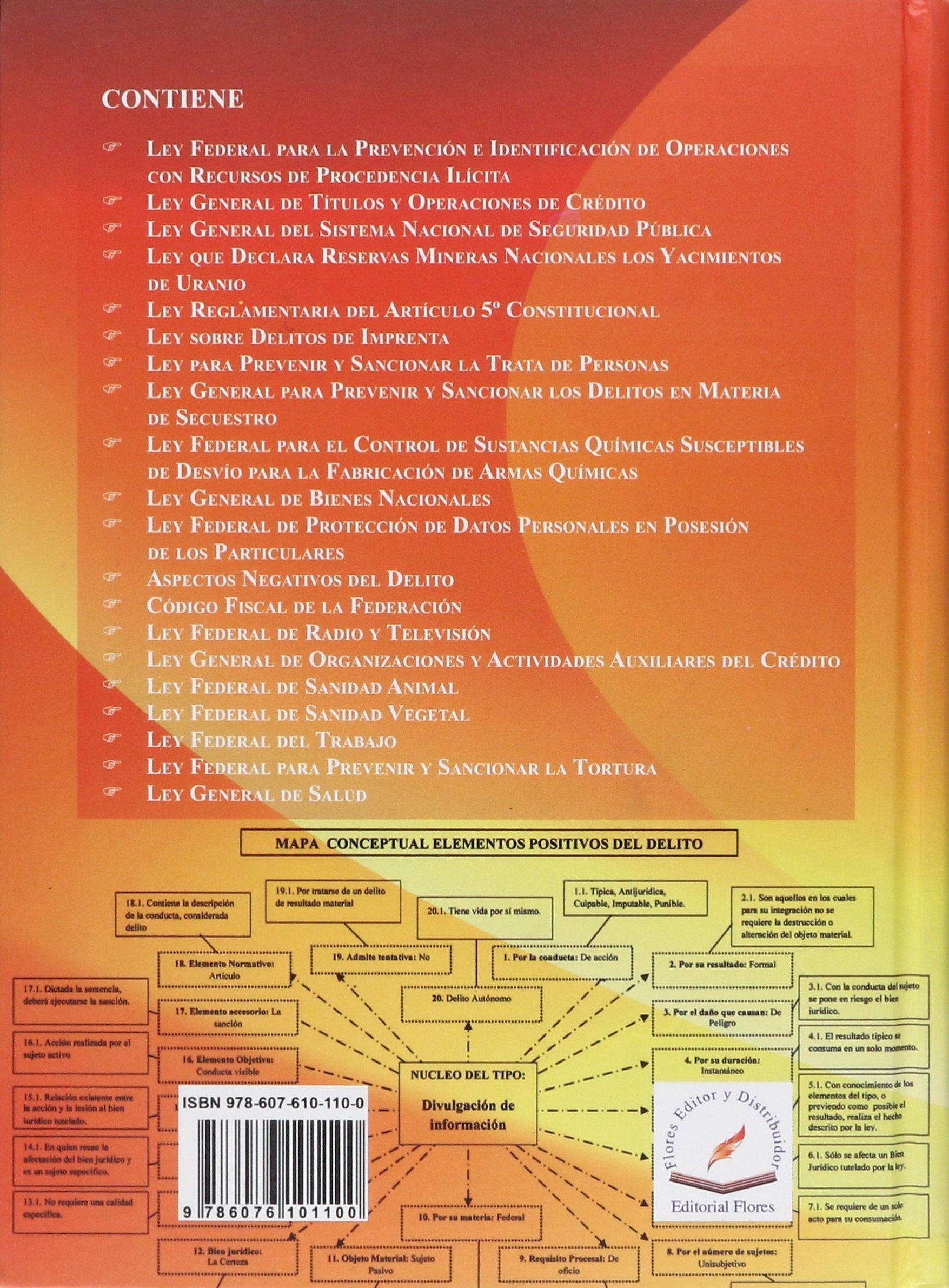 Leyes Especiales Federales En Mapas Conceptuales, La / Tomo: Amazon.es: Libros
