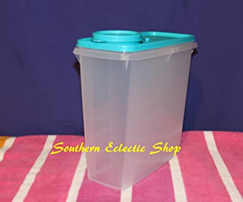 Tupperware Cereal Keeper 13 Cup Container Tropical Water Seal & Amazon.com: Tupperware Cereal Keeper 13 Cup Container Tropical Water ...