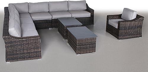 Century Modern Outdoor Marina Collection Patio Furniture Sofa Garden