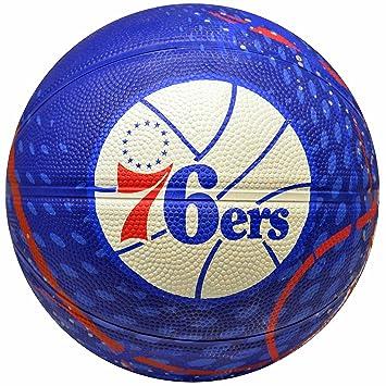 Spalding NBA Philadelphia 76ers equipo colores y logo Mini - Balón ...