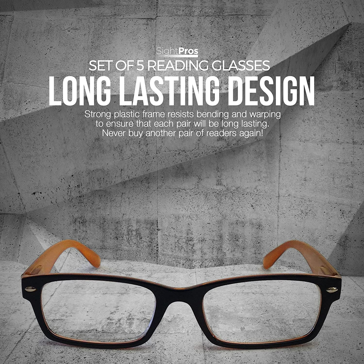 Amazon.com: SightPros Reading Glasses - See Clearly up close ...