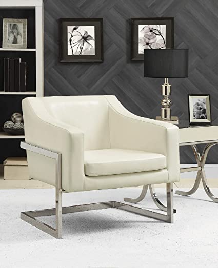 Null Coaster Home Furnishings 902539 Accent Chair White