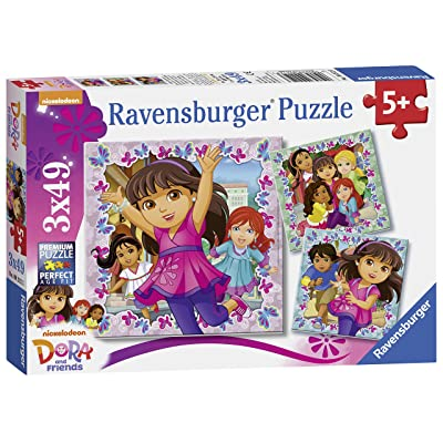 Ravensburger Dora & Friends 3x 49pc puzzles