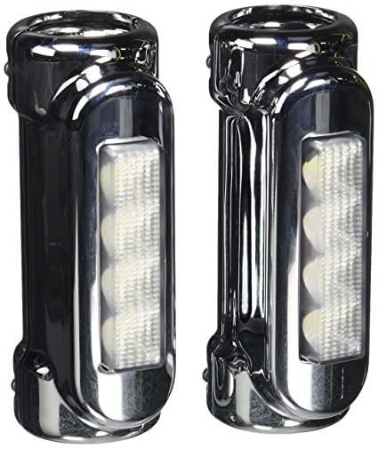 Amazon xkglow xk034014 w chrome motorcycle highway bar xkglow xk034014 w chrome motorcycle highway bar switchback driving light white amber led for aloadofball Gallery