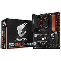Gigabyte AORUS GA-Z270X-Gaming K5 Gaming Motherboard, ATX, Socket LGA1151, Chipset Intel Z270, DDR4, 2-Way SLI