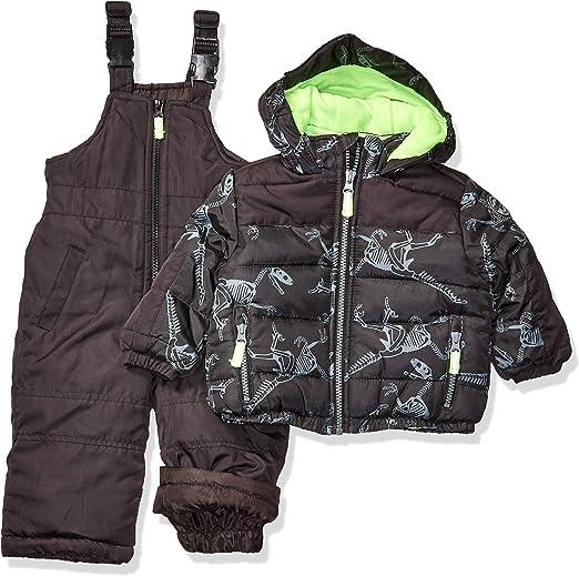 Osh Kosh Boys Ski Jacket and Snowbib Snowsuit Set