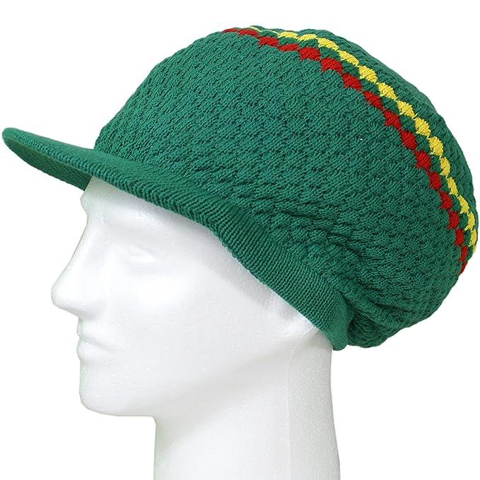 Amazon Shoe String King Rasta Dread Knit Tam Hat Dreadlocks