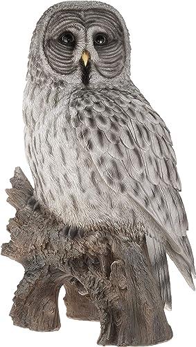 Hi-Line Gift Ltd Owl on Stump Statue