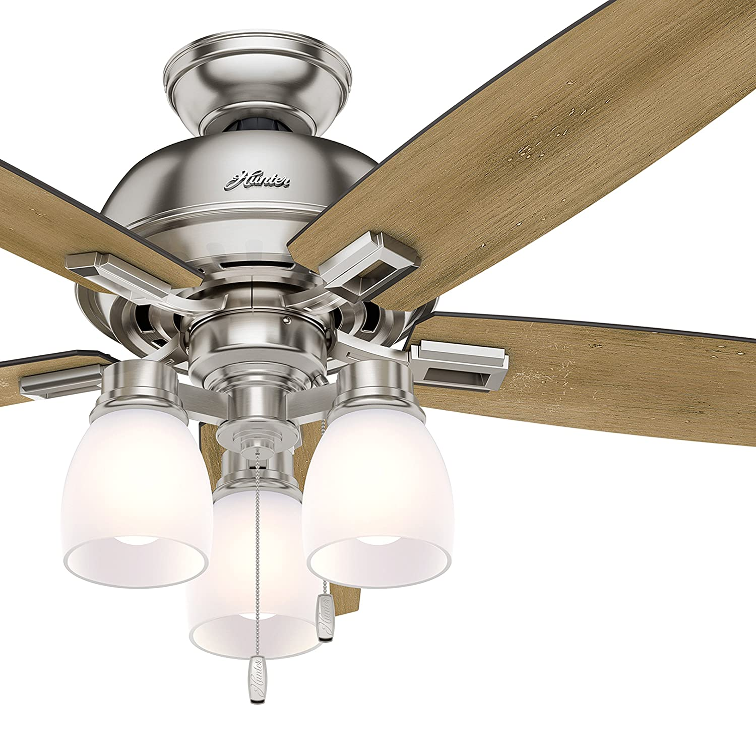 Westinghouse Lighting Westinghoue 7217800 Halley 44-Inch Oil Rubbed Bronze Indoor Outdoor Ceiling, Dimmable LED Light Kit with Frosted Opal Glass, Remote Control Included USA FAN,