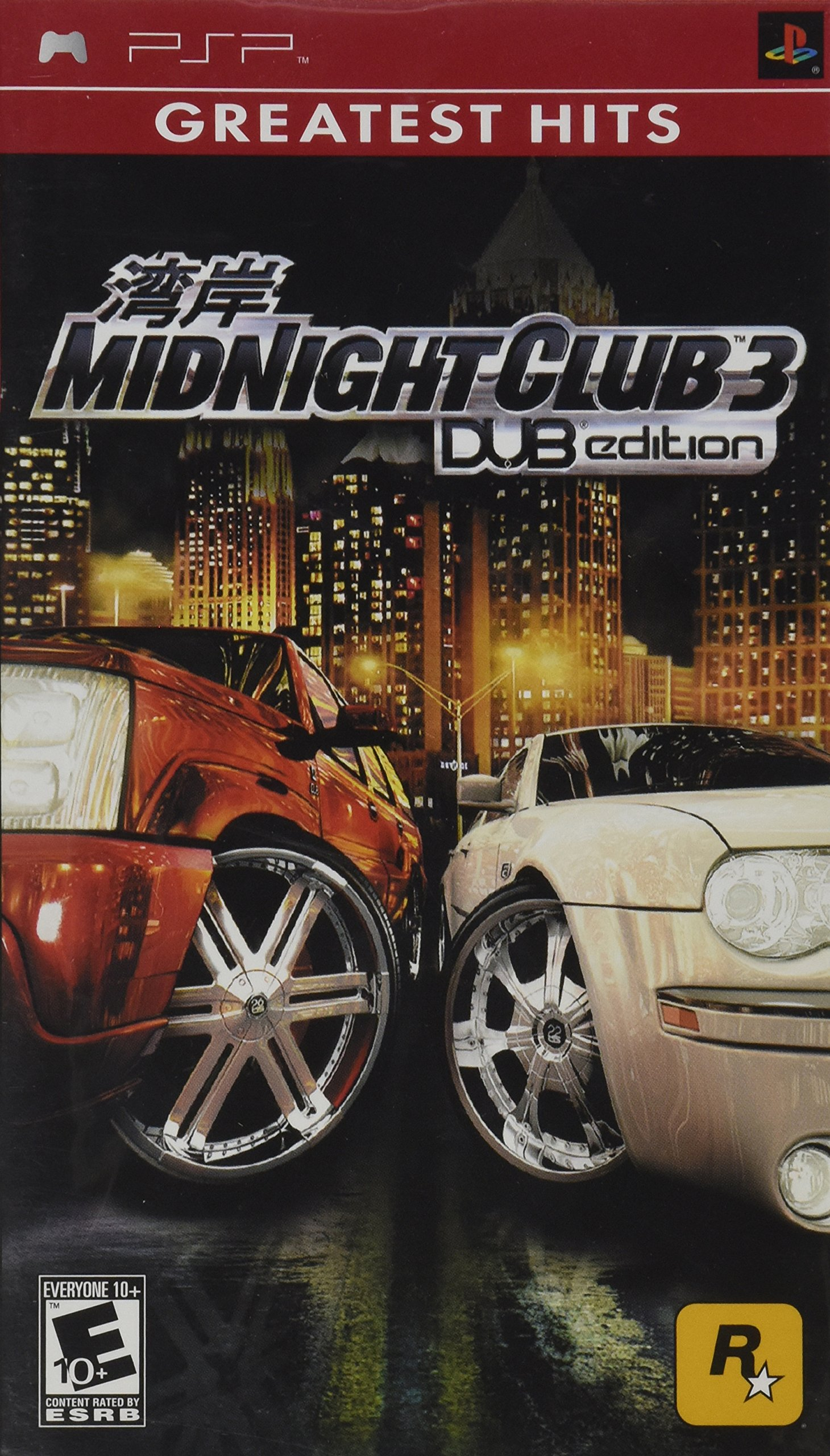 Midnight Club 3, Dub Edition, Sony PSP by Rockstar Games (Image #1)