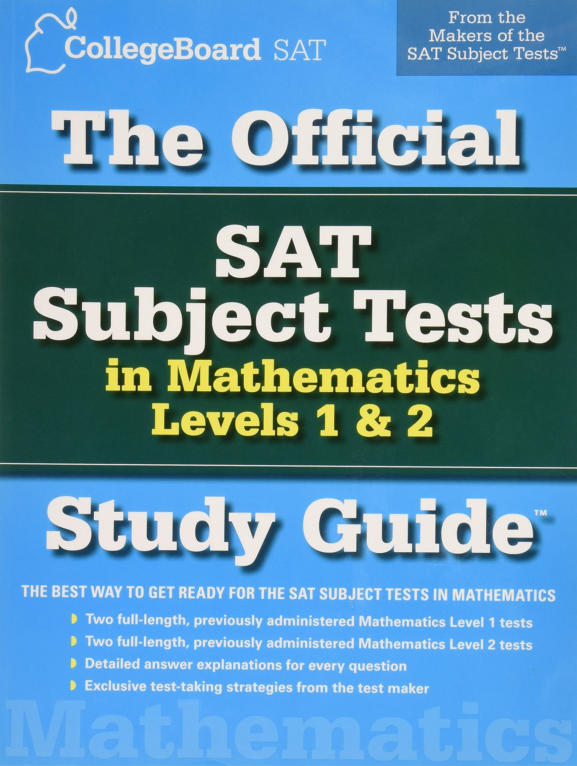 Read Online The Official SAT Subject Tests in Mathmetics Levels 1 & 2 PDF