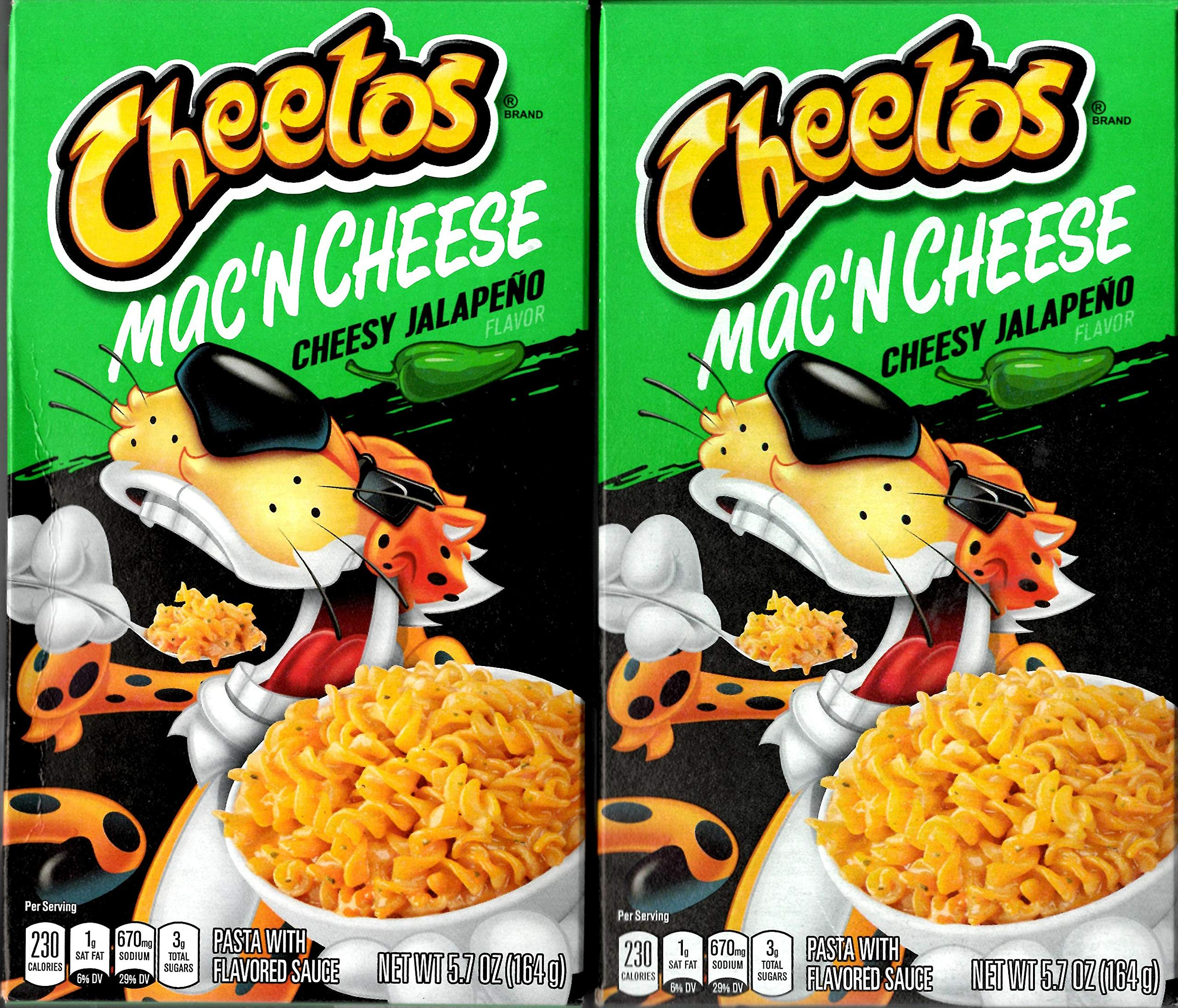 Cheetos Mac'n Cheese - Cheesy Jalapeno Flavor (Pack of 2)