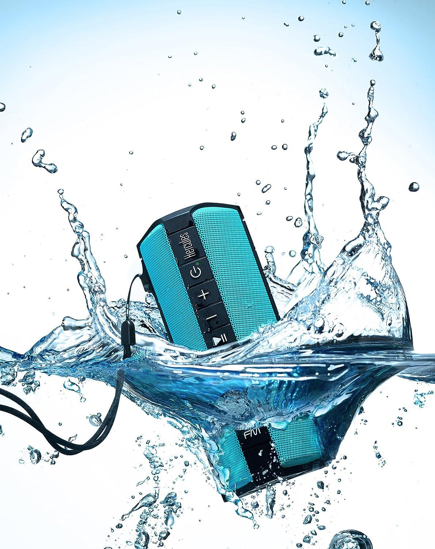 resistente agua incluye WAE App Certificado  IP67 Hercules WAE OUTDOOR 04 PLUS FM radio FM Altavoz Bluetooth polvo golpes