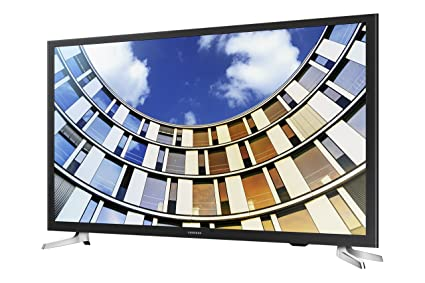 Samsung 32 Inch Smart TV UN32M5300A front left angle screen