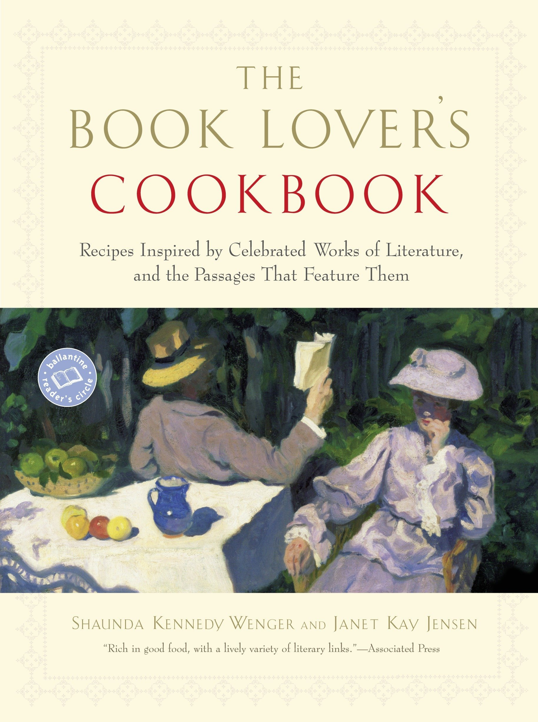 The Book Lover's Cookbook: Recipes Inspired by Celebrated Works of Literature
