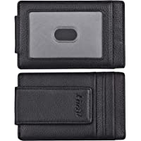 LICTOP 6pcs Stainless Steel Money Clip for Cash and Credit Cards Brass Banknote Clip Credit Card Holder Wallet Credit Card Holde