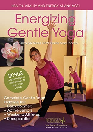 Amazon.com: Energizing Gentle Yoga: Sherry Zak Morris ...