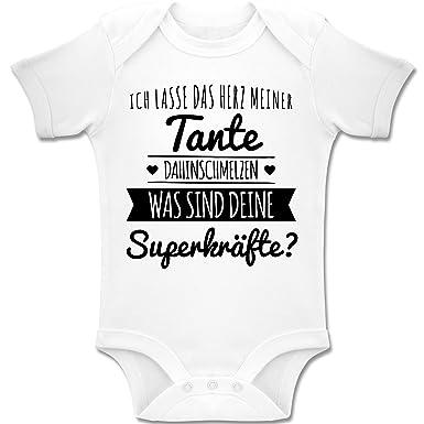 Shirtracer Spruche Baby Tante Herz Dahinschmelzen Baby Body