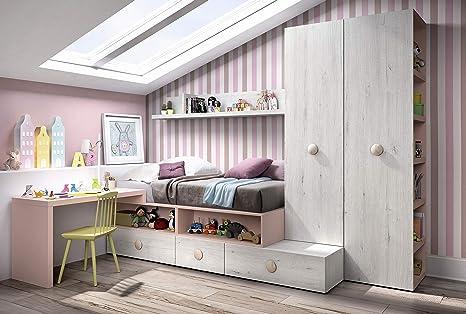 ambiato Kinderzimmer Vita 02 Bett mit viel Platz für ...