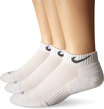 Nike Dri-FIT Cushion Low-Cut Training Socks, 3-pair