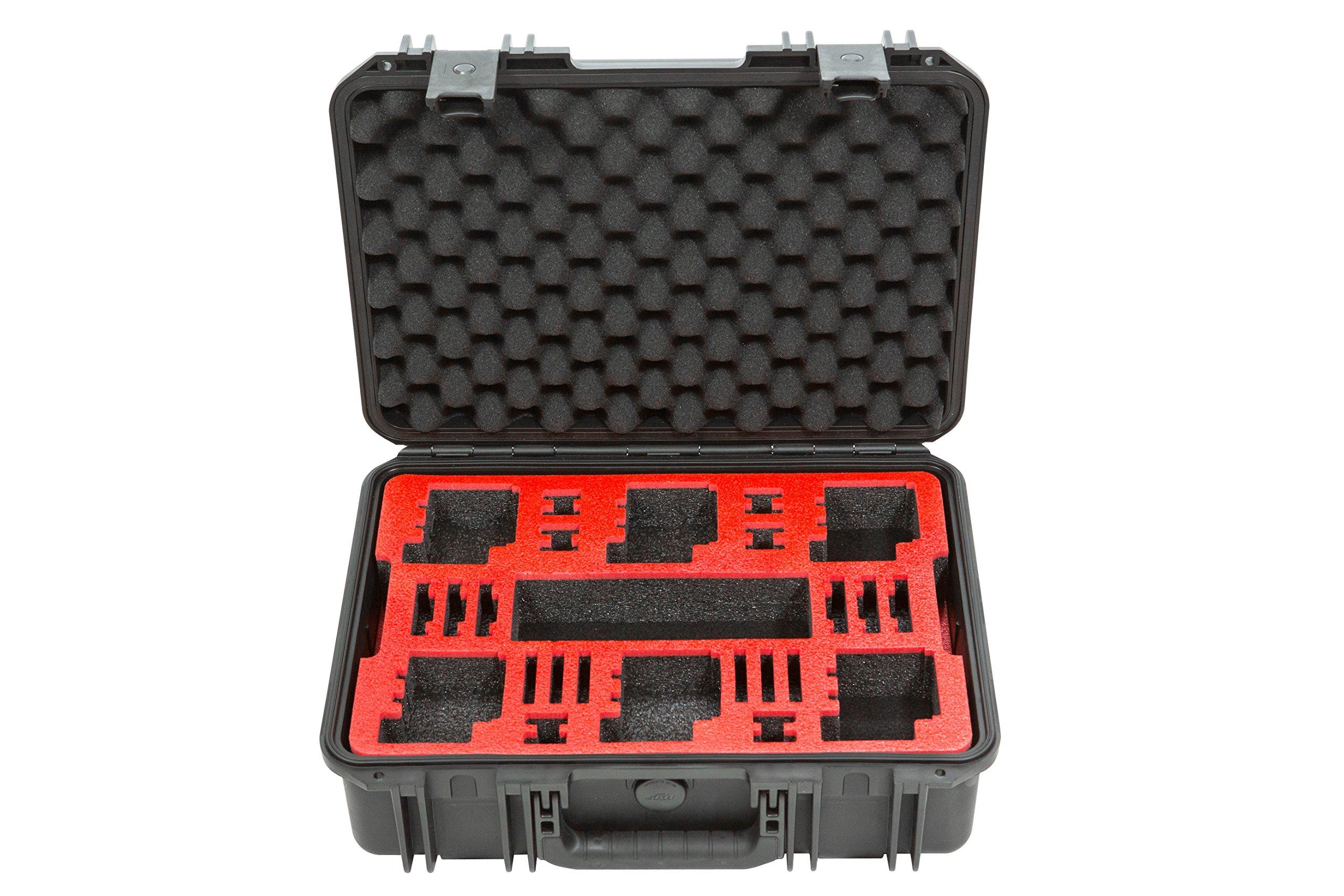 SKB Cases 3i-1711-6GP6 SKB - iSeries Waterproof GoPro Camera Case, Dual Layer (Black)