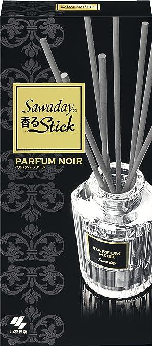 9a3e0994713b Amazon | サワデー香るスティック 消臭芳香剤 本体 パルファムノアール ...