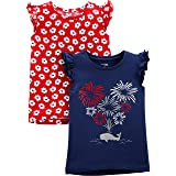 Simple Joys by Carter's Girls' 3-Pack Short-Sleeve Shirts and Tops