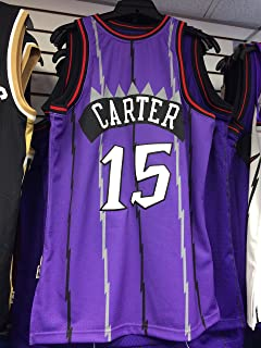 cheap for discount 14bad be837 Vince Carter Toronto Raptors Mitchell & Ness Authentic 1998 ...