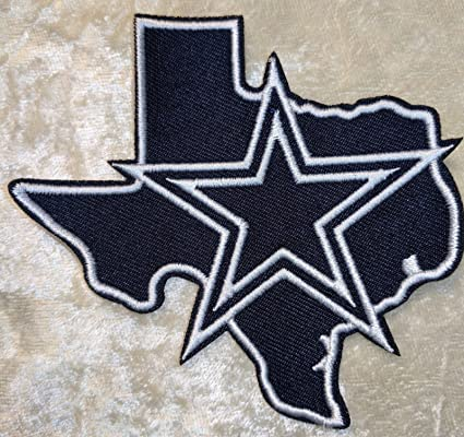 Amazon Dallas Cowboys Nfl 35 State Iron On Embroidered Patch