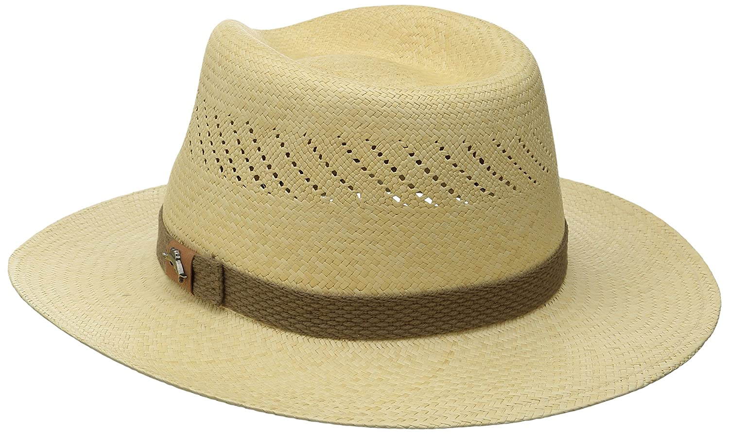 dd4d56c3379 Tommy Bahama Men s Panama Vent Outback Hat at Amazon Men s Clothing store