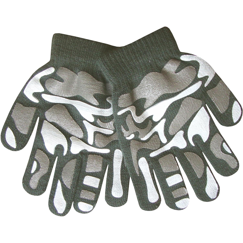 palmo in uno speciale materiale antiscivolo Guanti termici a punto sottile motivo militare