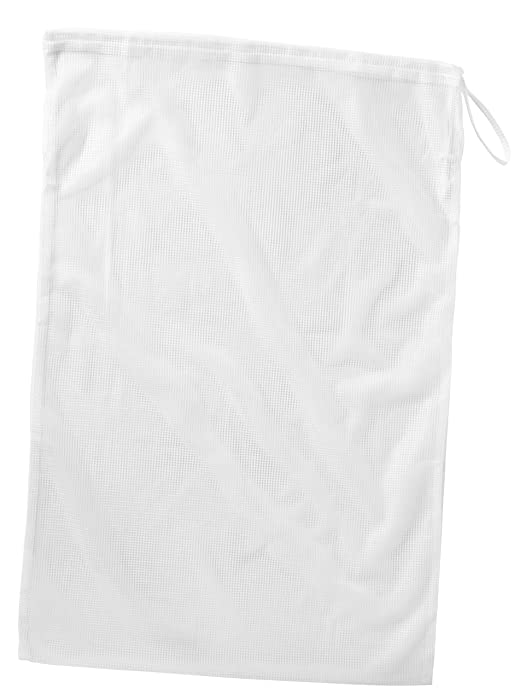 Whitmor Mesh Laundry Bag White