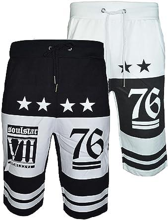 1a538d21d9 Men's New Three Quarter Jersey Jogger Knee Length Jogging Bottom Short Pants  (Small, Black