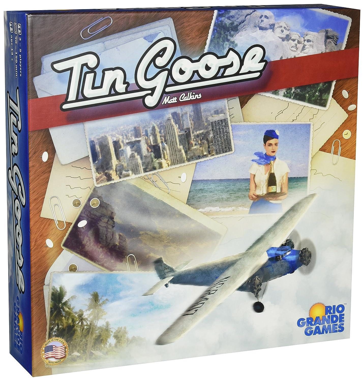 Tin Goose Goose Goose Board Game by Rio Grande Games c91a2c