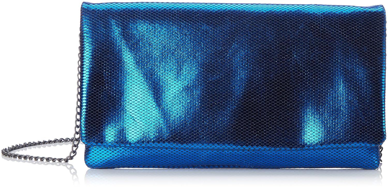 s.Oliver Damen 7f.709.94.4478 Umhaengetasche, 3x13.5x26 cm Blau (Blau Metallic) s.Oliver (Bags)