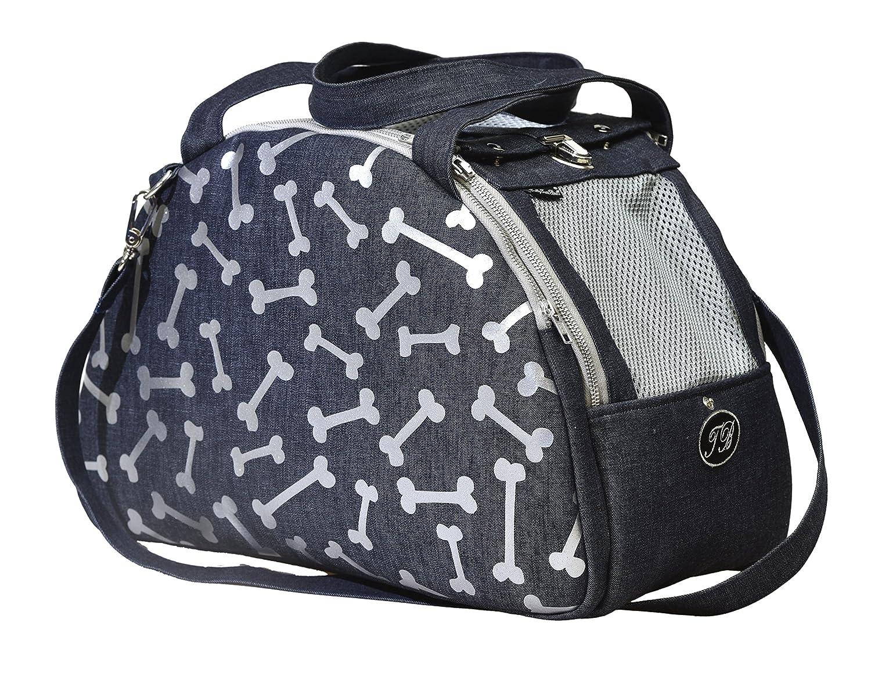 Denim 0 Denim 0 Trilly tutti Brilli Oliviero Travel Bag for Dogs, Denim