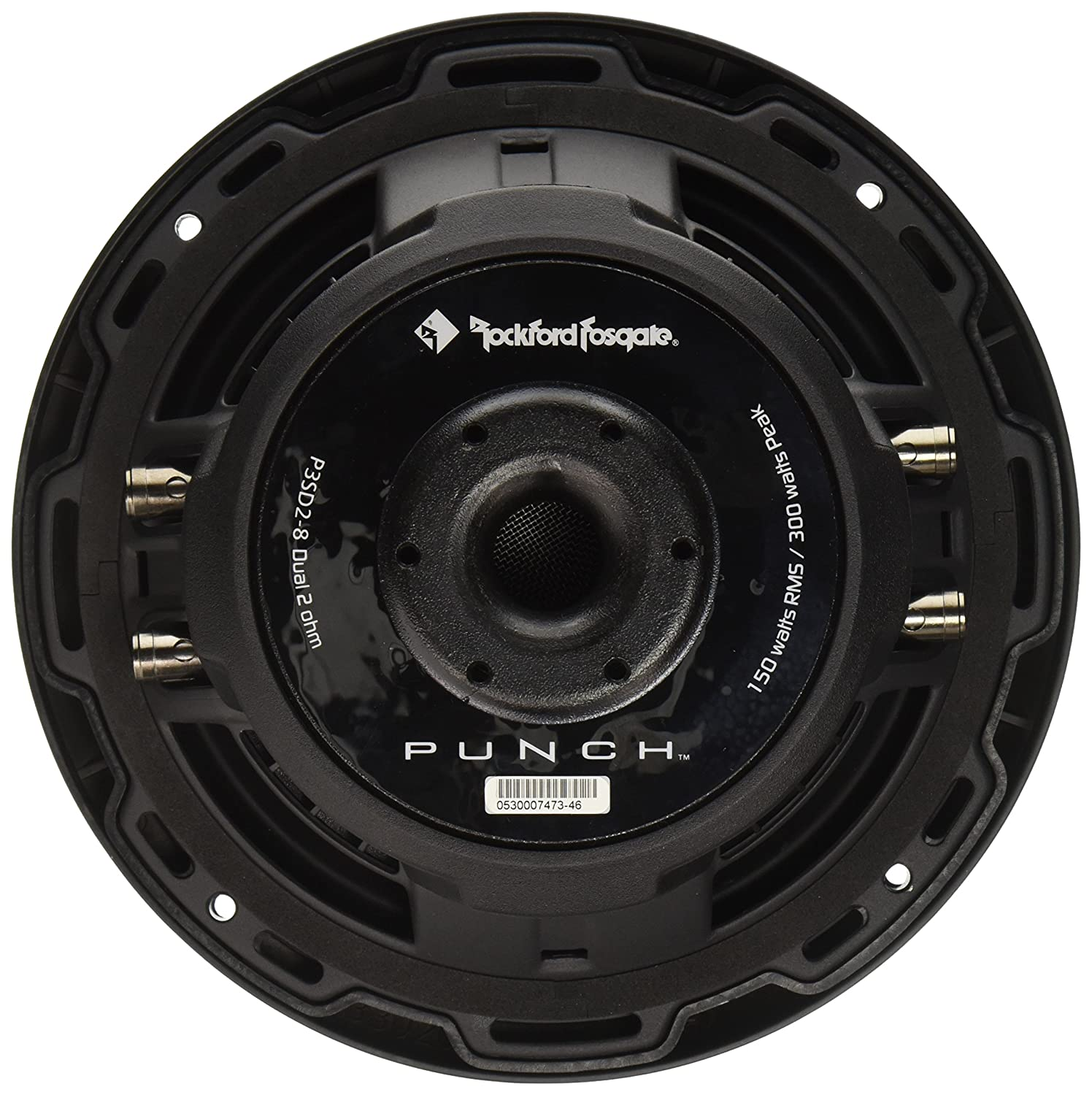 Rockford Fosgate P3sd2 8 Dual 2 Ohm Punch Series 2004 Acura Tl Subwoofer Wiring Shallow Mount Car Electronics