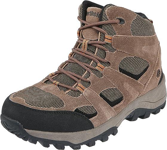 NORTHSIDE Monroe Men/'s Hiking Shoes Brown+Black Waterproof Trail Outdoors