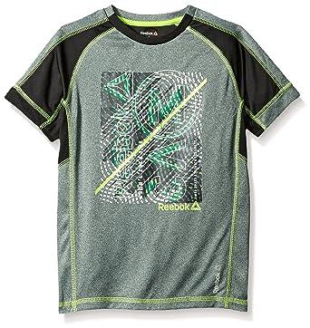 71cc11a306ca Amazon.com  Reebok Boys  Short Sleeve Active T-shirt  Clothing
