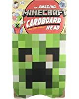Minecraft Creeper Head Mask Adult, One-Size, Green