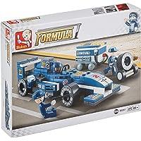 Sluban Formula Mavi Şimşek Yarış Arabas