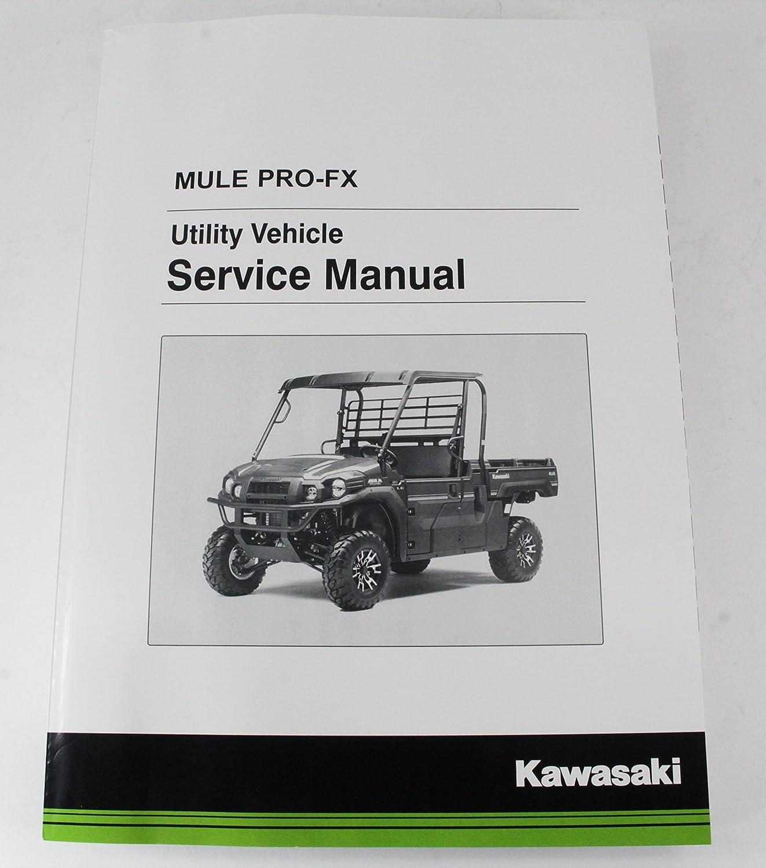 Amazon.com: Kawasaki 2016 2017 Mule Pro FX EPS Camo LE Service Manual  99924-1498-02 New OEM: Automotive