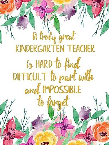 Amazon.com: Kindergarten Teacher Gift - A truly great ...