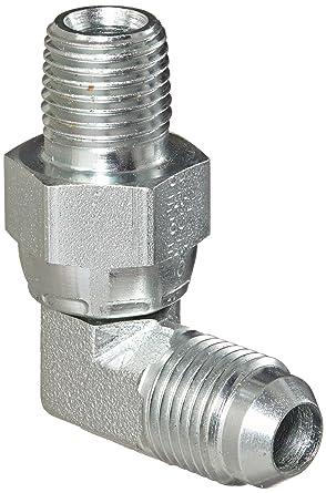 m 1//4 NPT x 3//8 JIC Carbon Steel Eaton Aeroquip 2249-4-6S 90 Degree Male Pipe Swivel to Male Pipe Swivel 1//4 Male Pipe Size JIC 37 Degree /& NPT End Types m End Size 3//8 Tube OD