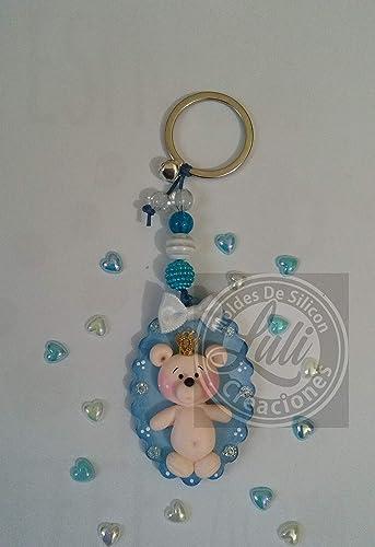 Llaveros Bautizo Nino.6 Llaveros Bautizo Nacimiento Baby Shower Nino Recuerdos