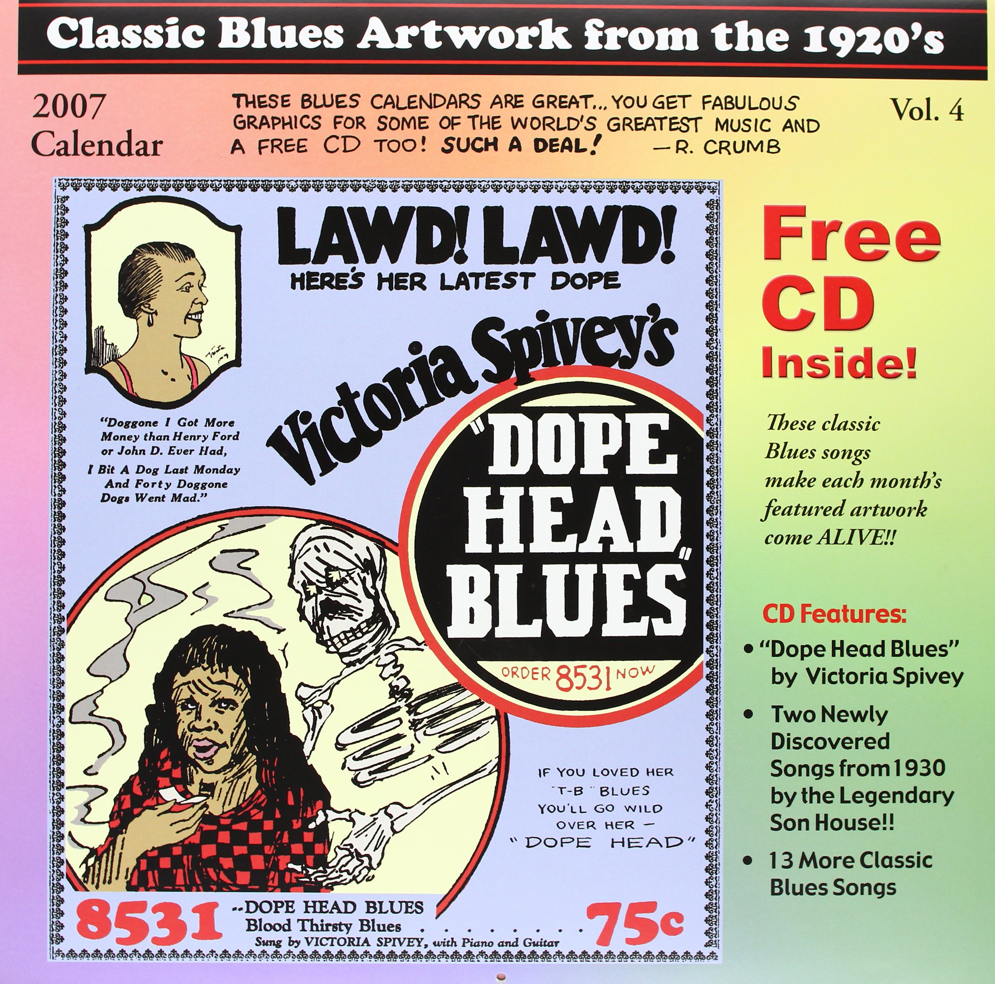 Read Online Classic Blues Artwork from the 1920's 2007 Calendar ebook