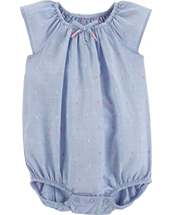 ce4b70507 Amazon.com: OshKosh B'Gosh Baby Girls' Bodysuits: Clothing