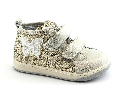 36236c30b Juguetes 486 216 23 25 Mini Zapatos de niña de Platino Piel rasga Mediados  25  Amazon.es  Zapatos y complementos