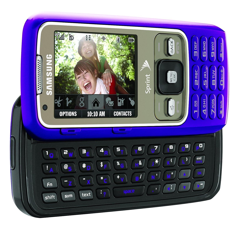 amazon com samsung rant phone purple sprint cell phones rh amazon com Samsung Refrigerator Manual Samsung Service Manuals