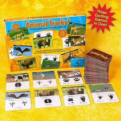 Animal Tracks Game: Toys & Games